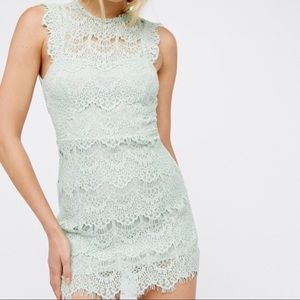 NWT Free People Intimately Lace Dress.-I2.